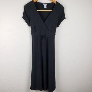 Motherhood maternity black dress sz S
